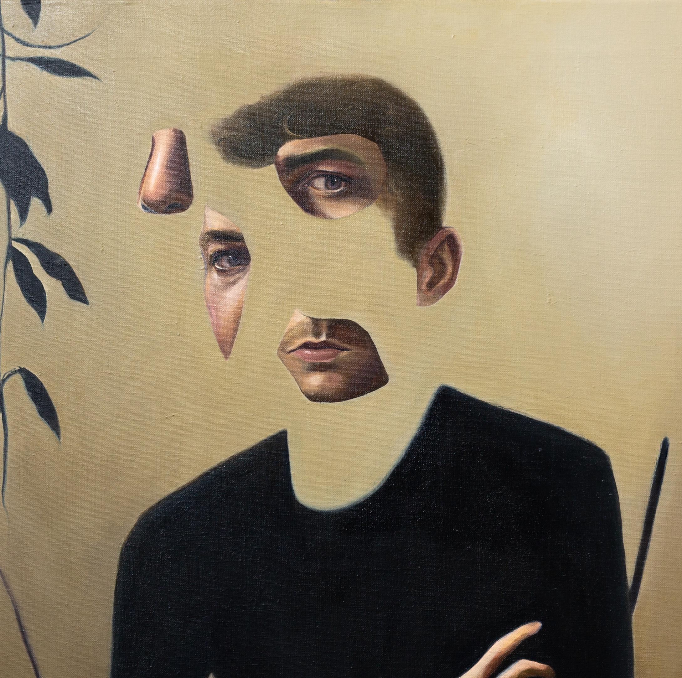 Self portrait in lockdown detail