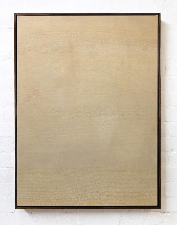 00100, 2020. Oil on canvas, 102x76x4cm