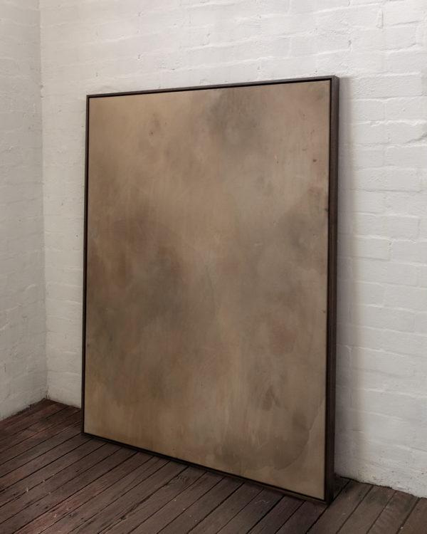A single metaphor, acrylic and spray paint on canvas, 2021